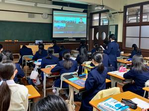 ボーダレスジャパン特別授業